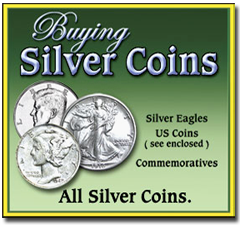 The Saint Petersburg Jewelry & Coins Buying Silver Coins poster