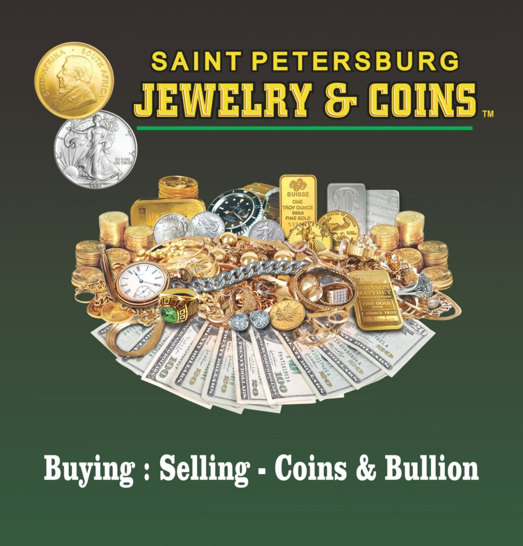 The Saint Petersburg Jewelry & Coins poster